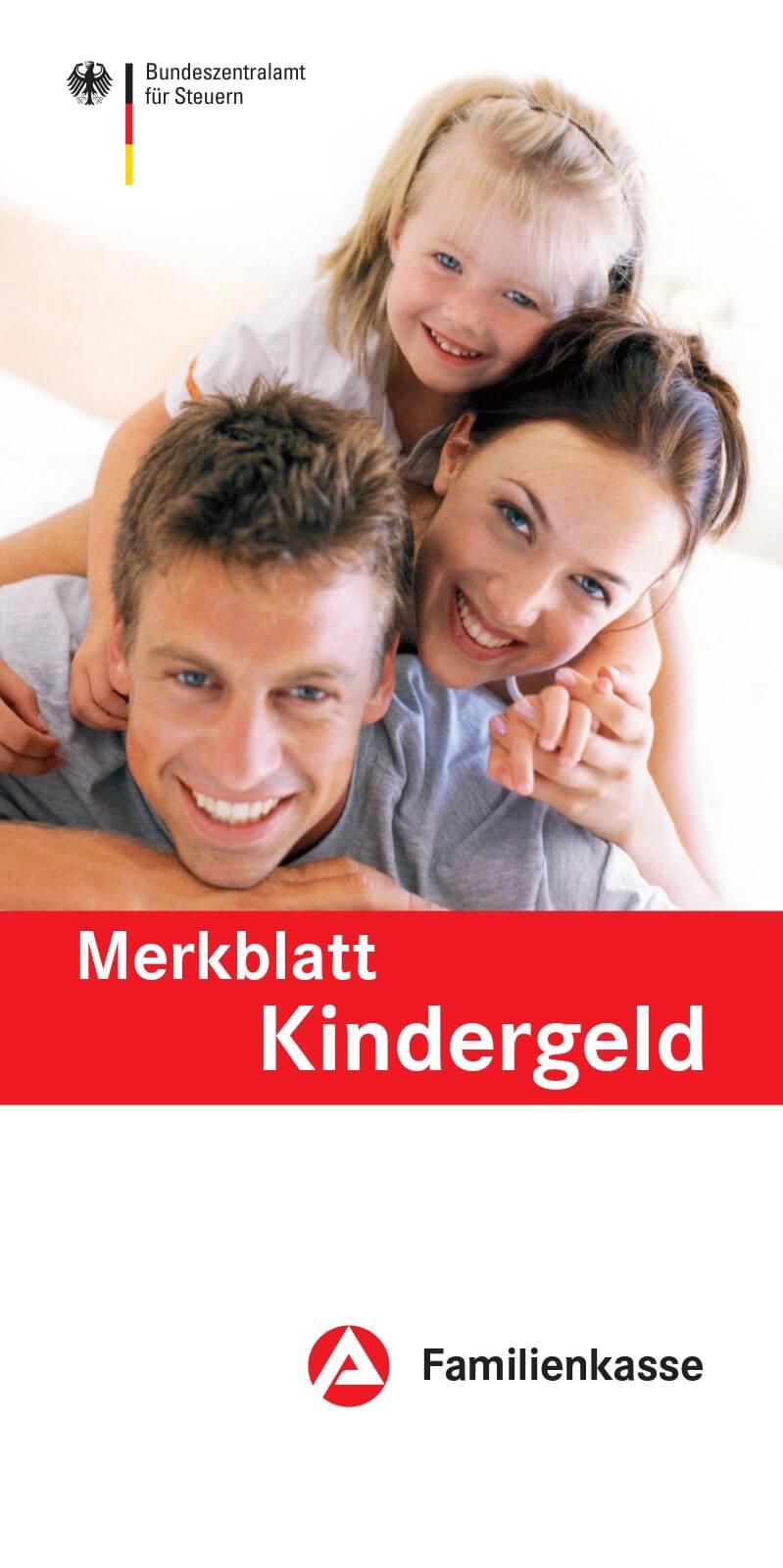 Merkblatt Kindergeld Broschüre (c) bmfsfj.de