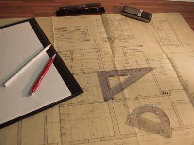 Arbeit | Bauplan (c) Siegfried Fries / pixelio.de