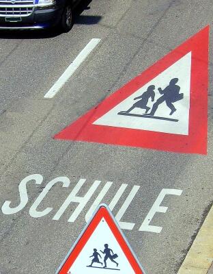 Achtung Kinder (c) Manwalk / Pixelio.de