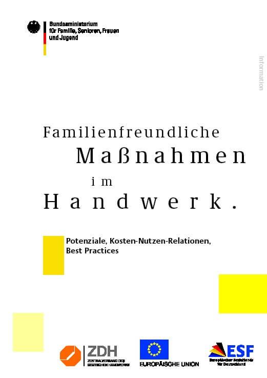 familienfreundliche massnahmen im handwerk (c) bmfsfj.de