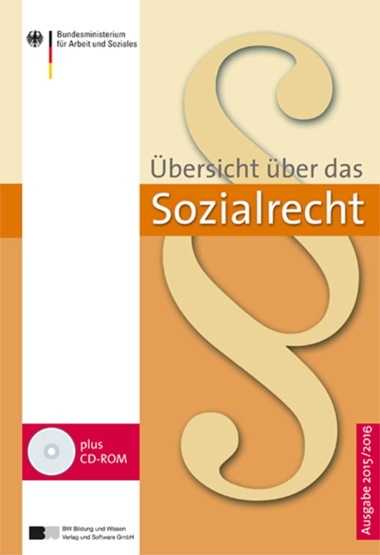 Übersicht über das Sozialrecht in Buchform (c) bwverlag.de