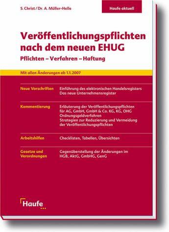 Buchcover Ehug (c) haufe.de