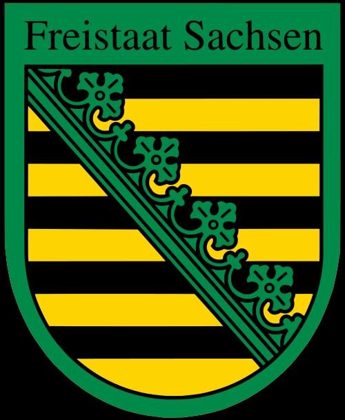 Wappen Sachsen (c) sachsen.de