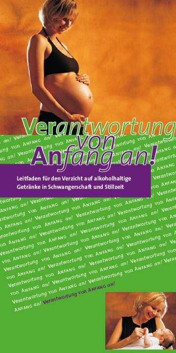 Leitfaden für den Verzicht auf alkoholhaltige Getränke in Schwangerschaft und Stillzeit