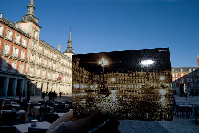 MADRID - Plaza Mayor (3rd in the series) (c) flickr.com Some rights reserved by square_eye