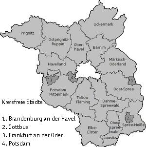 Karte Brandenburg (c) familienfreunde.de