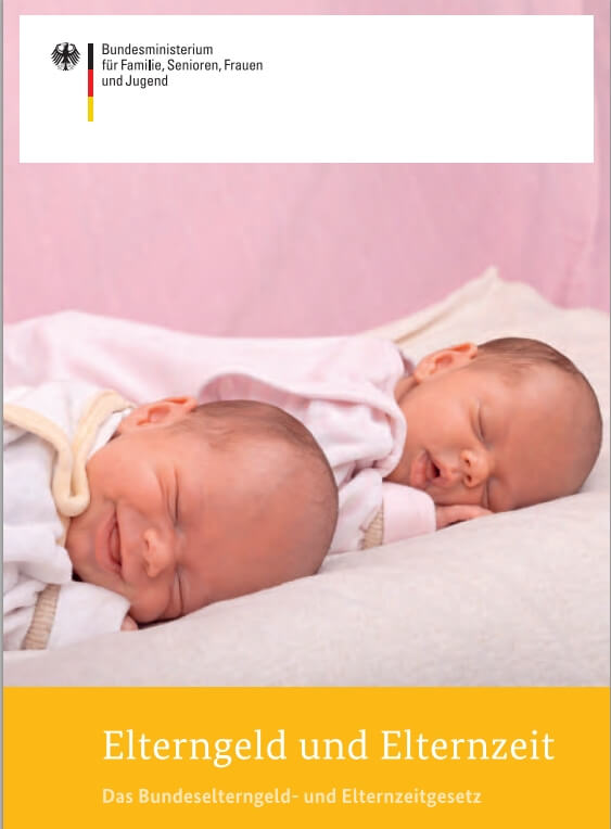 Broschüre Elterngeld und Elternzeit 2013 (c) BMFSFJ.de