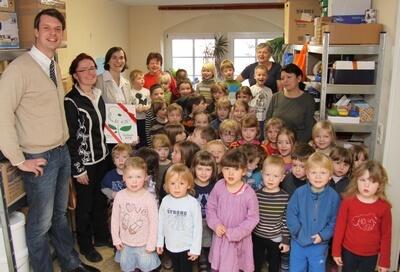 Kinder des Kinderhaus Dresden Friedrichstadt (c) khdf.de