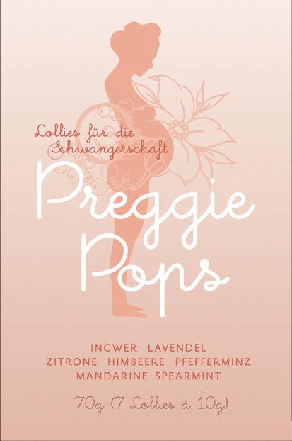 Preggie Pops Verpackung (c) preggiepops.de