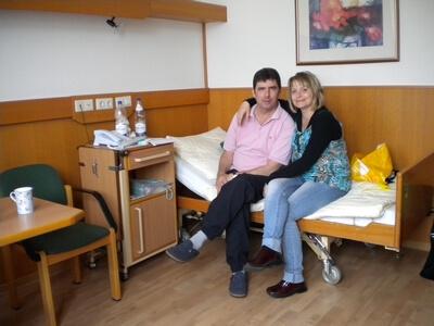 Tag der Organspende - Simone Bär und Tilo Pietsch (c) uniklinikum-dresden.de