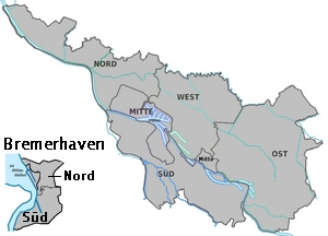 Karte Bremen (c) familienfreunde.de