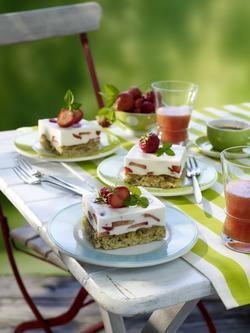 Joghurt-Limetten-Schnitten von Kölln