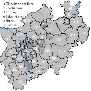 Karte Nordrhein-Westfalen (c) familienfreunde.de