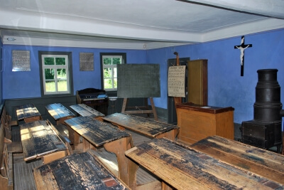 Schule | Historisches Schulhaus (c) Joachim Reisig  / pixelio.de