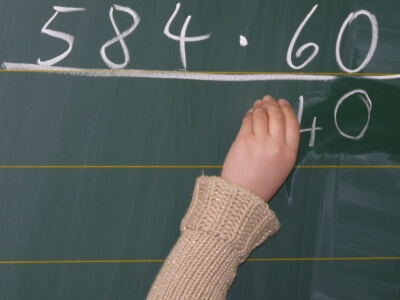 Schule | Tafel mit Zahlen (c) Dieter Schütz / pixelio.de