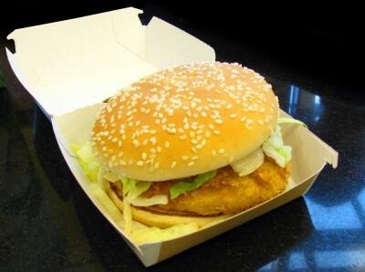 Ernährung | Fastfood - Hamburger (c) Thommy Weiss / pixelio.de