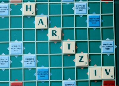 Spiel | Scrabble Hartz IV (c) Dr. Klaus-Uwe Gerhardt  / pixelio.de