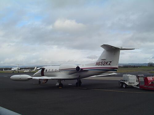 Learjet 35 by born1945, on Flickr