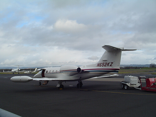 Learjet 35 by born1945, on Flickr
