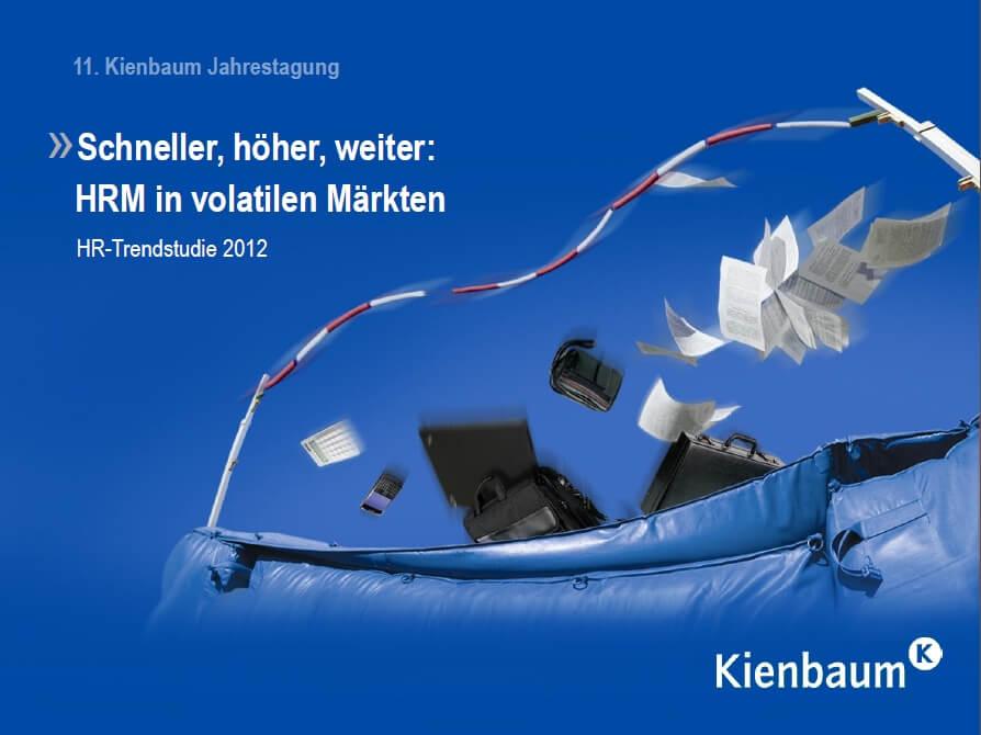 HR Studie 2012 (c) Kienbaum.de, Deckblatt
