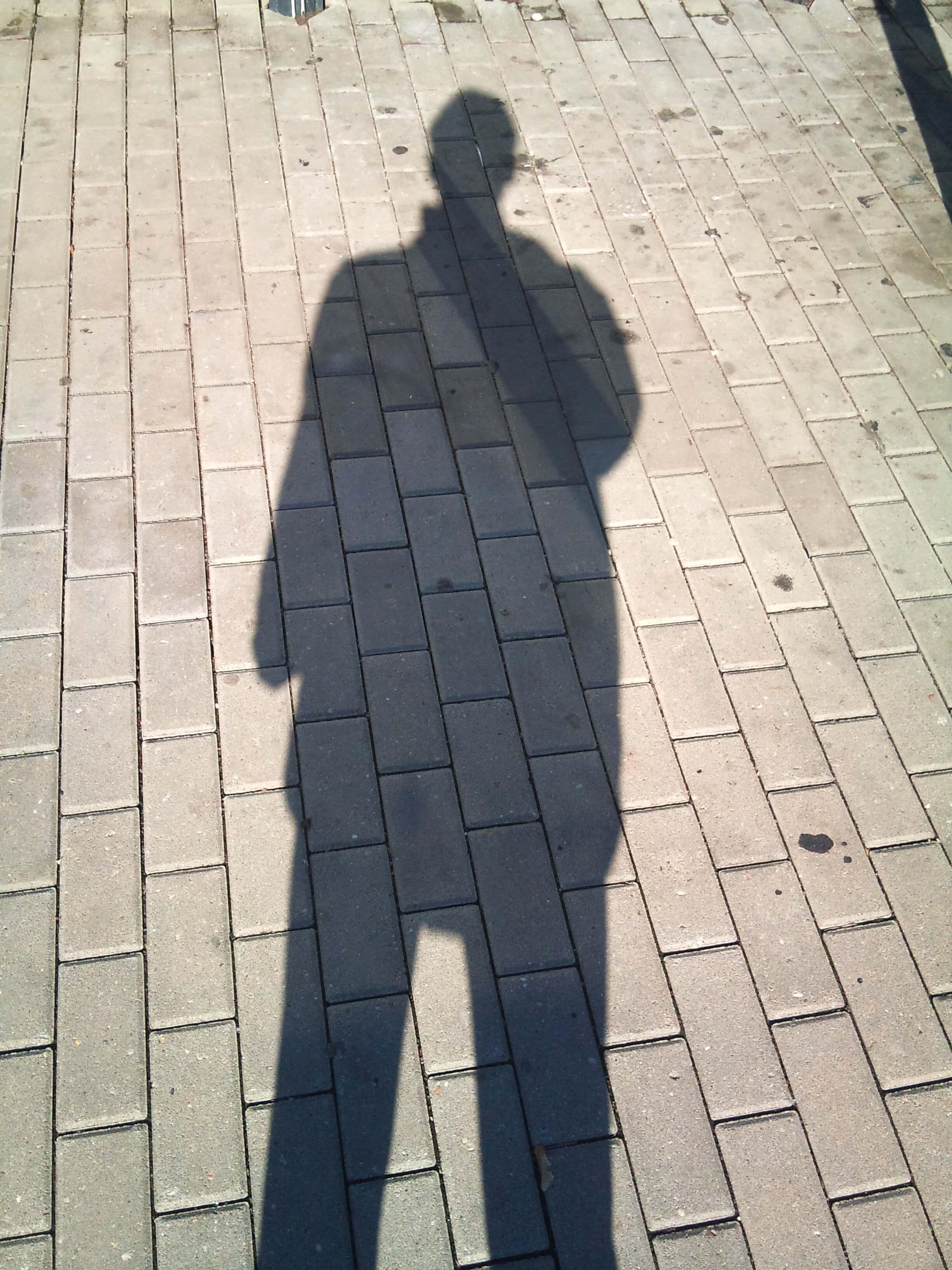 Depression Schatten eines Mannes (c) familienfreund.de