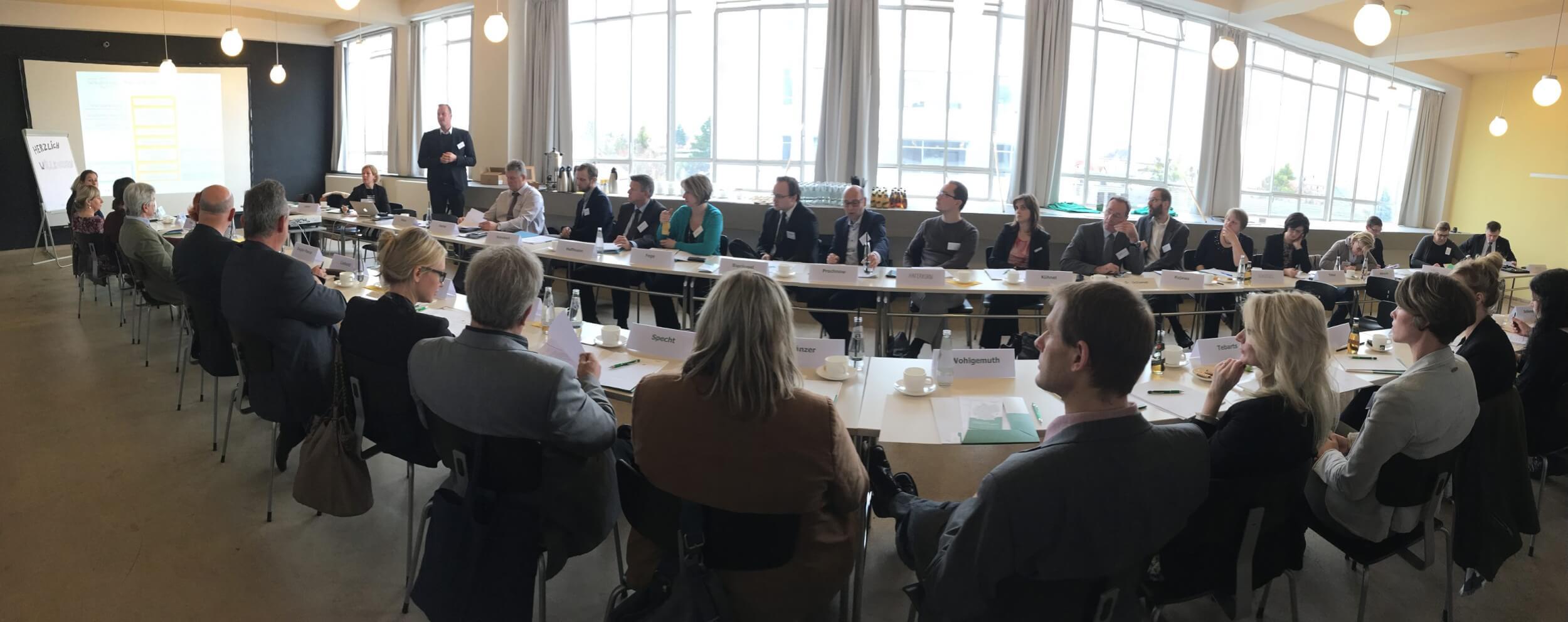 Erfahrungsaustauschkreis Dessau (c) Innovationsbüro Fachkräfte für die Region