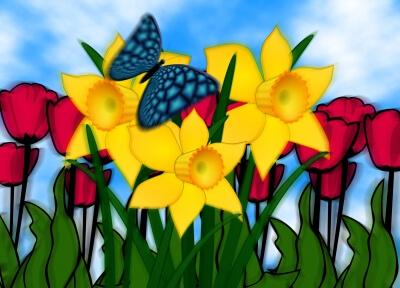 Frühling (c) gerd altmann / pixelio.de