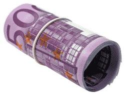 Geld   Geldrolle (c) Klaus Rupp / pixelio.de