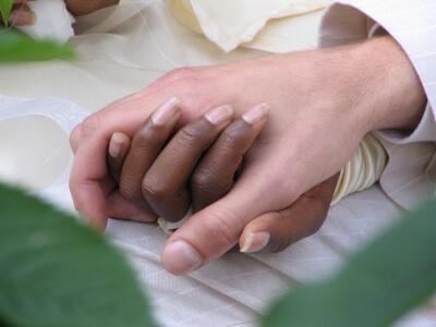 Hand | Schwarze und weisse (c) alex müller / pixelio.de