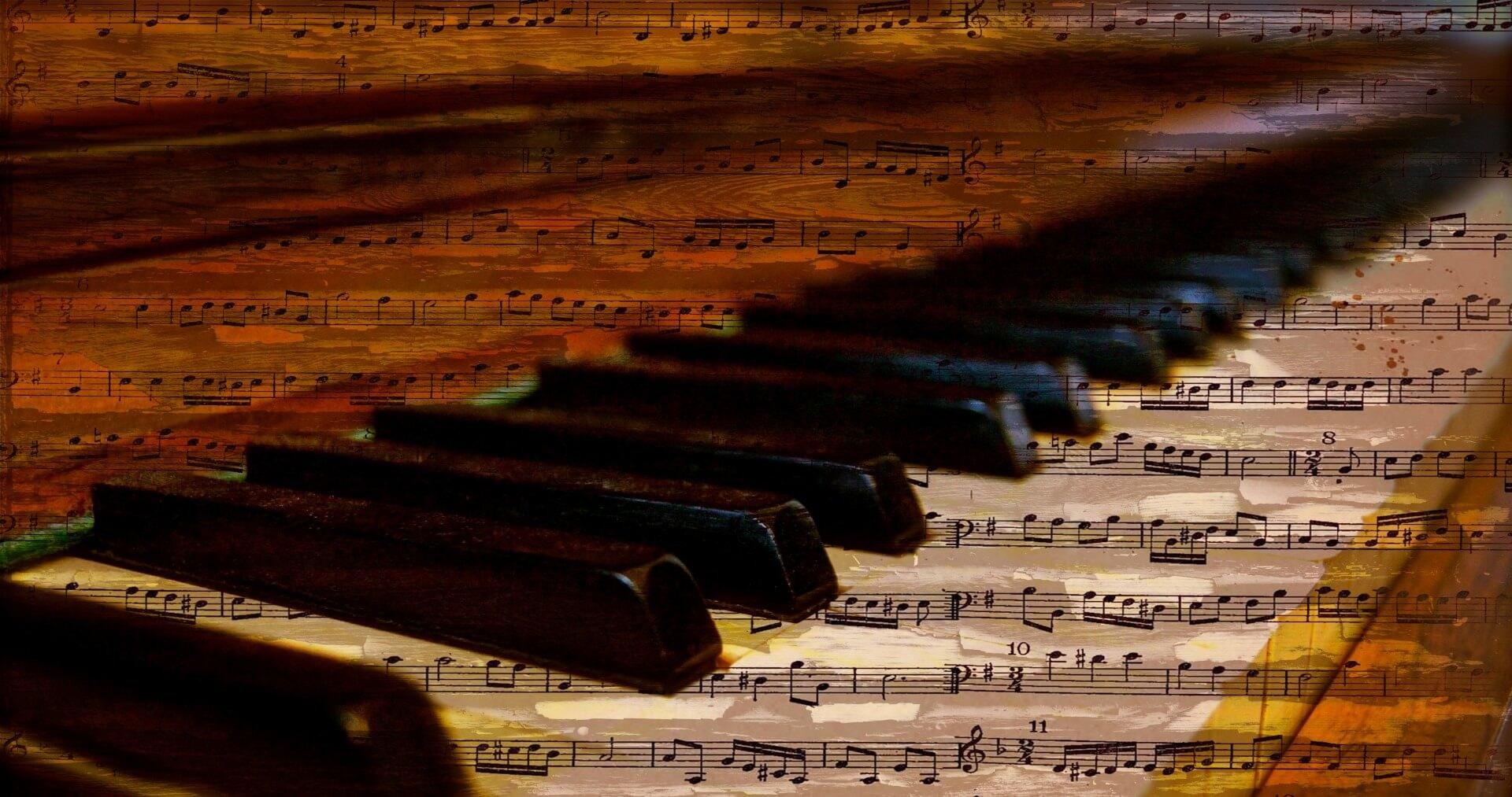 Klavier, Noten, Klassik (c) kaz / pixabay.de