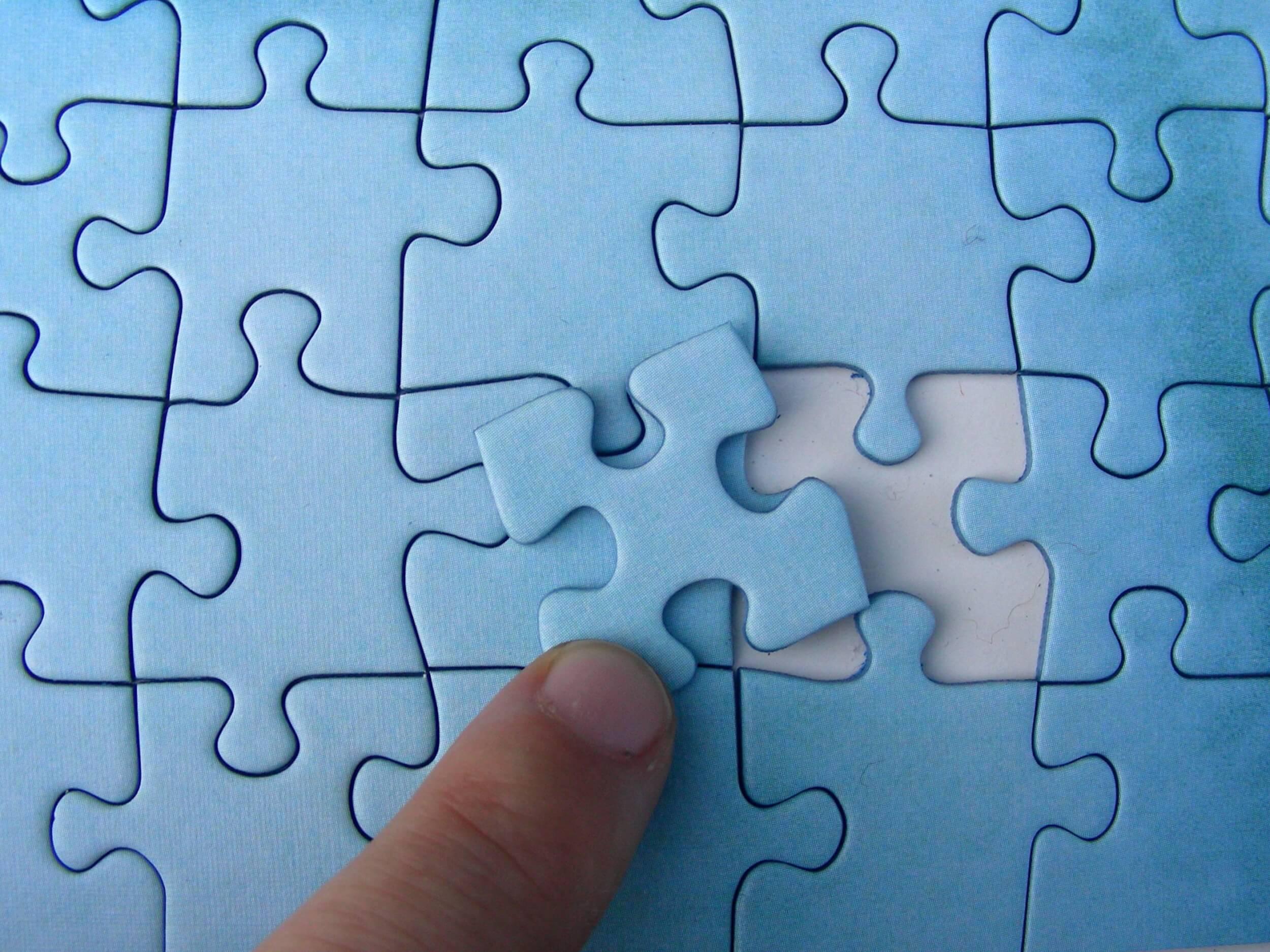 Puzzle-Teil fehlt (c) S. Hofschlaeger / pixelio.de