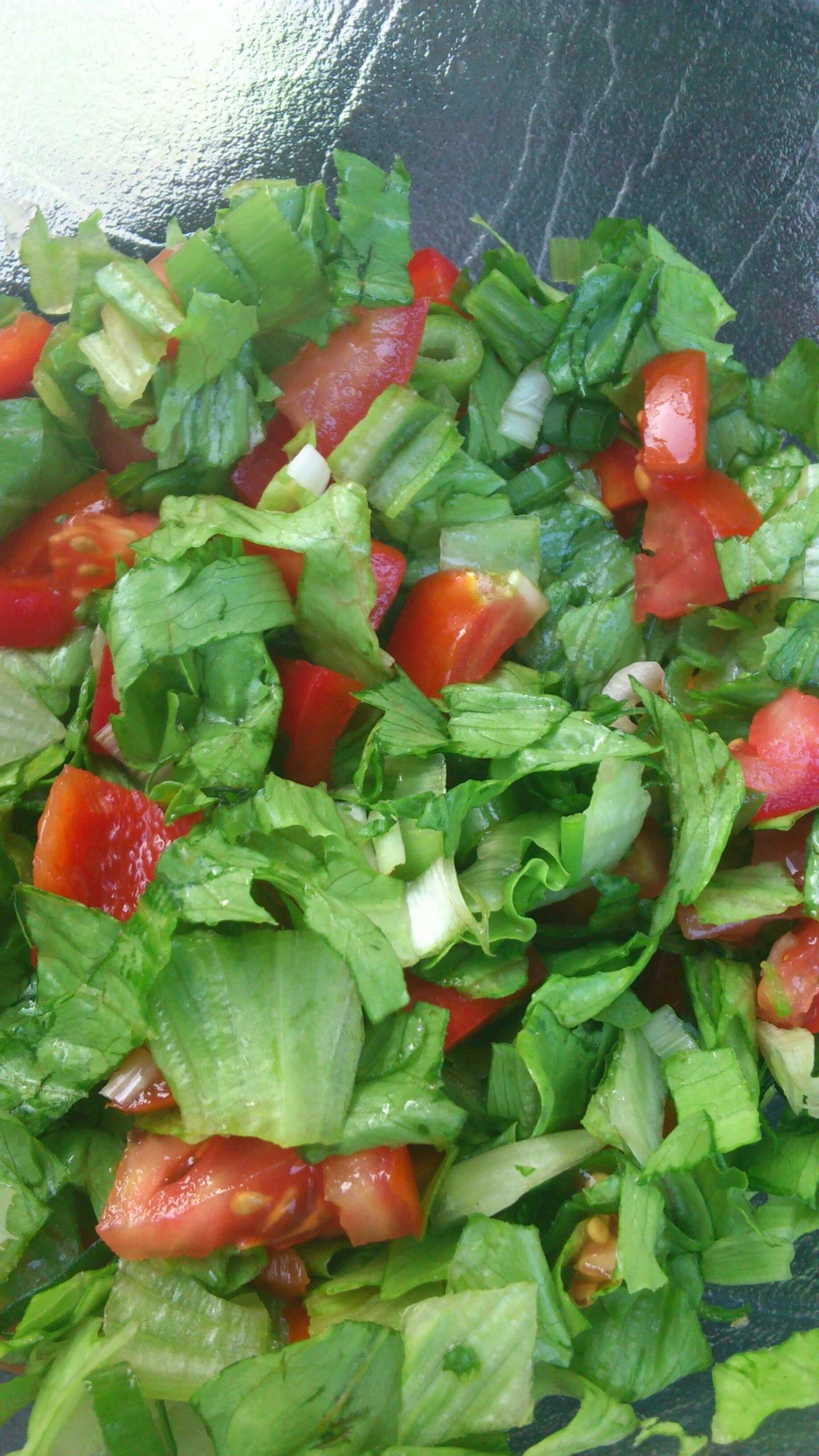 grüner Salat mit Tomaten (c) familienfreund.de