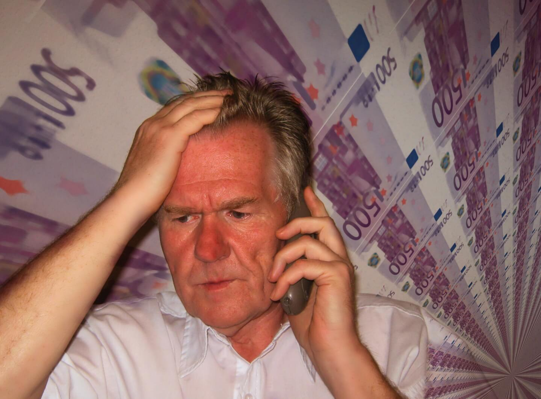 Sorgen um das Geld (c) geralt / pixabay.de