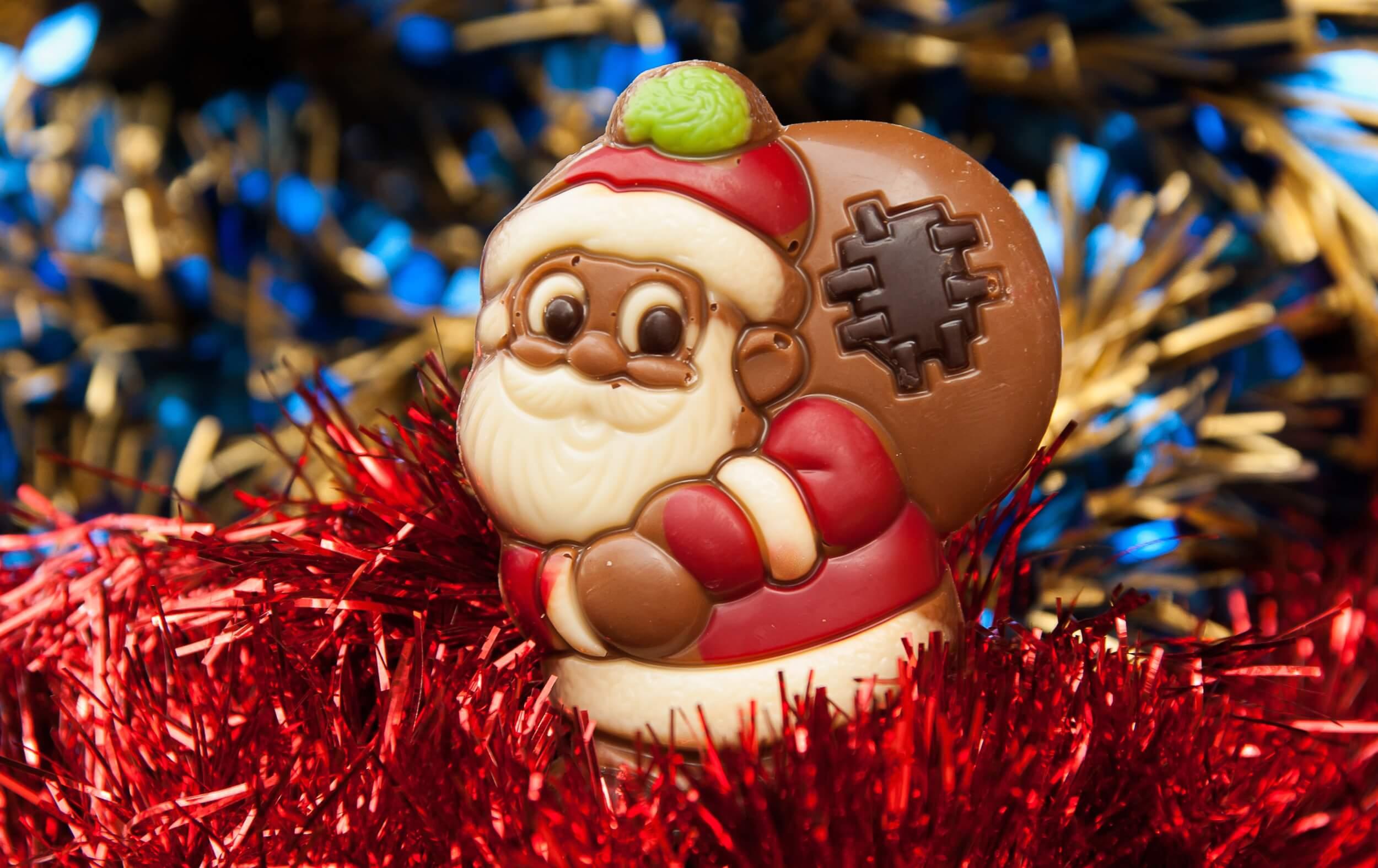 Weihnachtsmann aus Schokolade (c) jackmac34 / pixabay.de