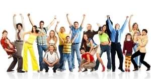 Familienjobs Happy funny people © Kurhan - Fotolia.com