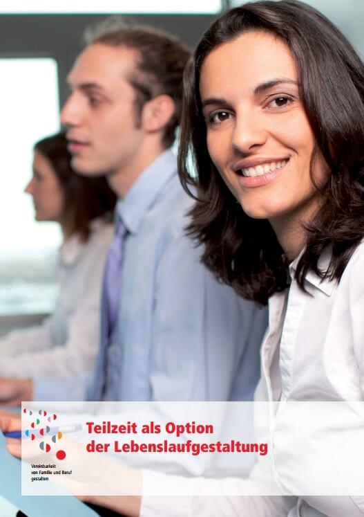 Deckblatt Broschüre Teilzeit als Option der Lebenslaufgestaltung (c) dgb.de