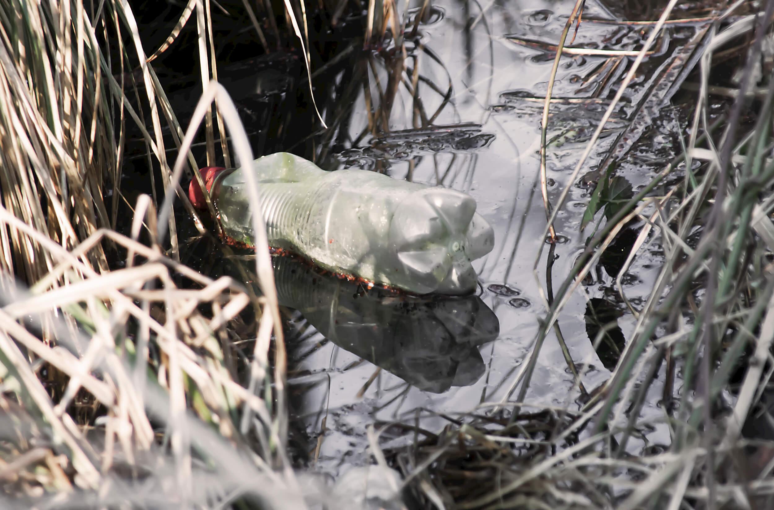 Plasteflasche Umweltschutz (c) Torsten Rempt / pixelio.de