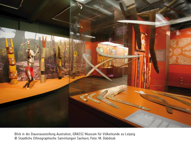 Dauerausstellung Australien (c) GRASSI MVL