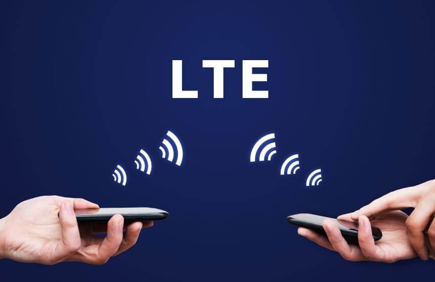 Symbolabbildung Mobilfunknutzung via LTE (c) o2.com