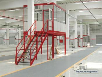 Becker RS Hallenbüro Produktbild 04 (c) becker.raumsysteme GmbH/becker-raumsysteme.de/