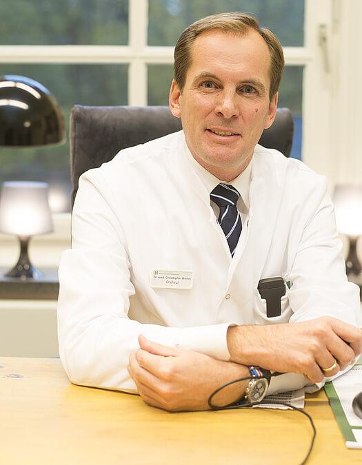 Dr. med. Christopher Wenck, Ärztlicher Direktor und Chefarzt der Abteilung für Allgemein- und Viszeralchirurgie der HELIOS Mariahilf Klinik Hamburg (c) HELIOS Kliniken