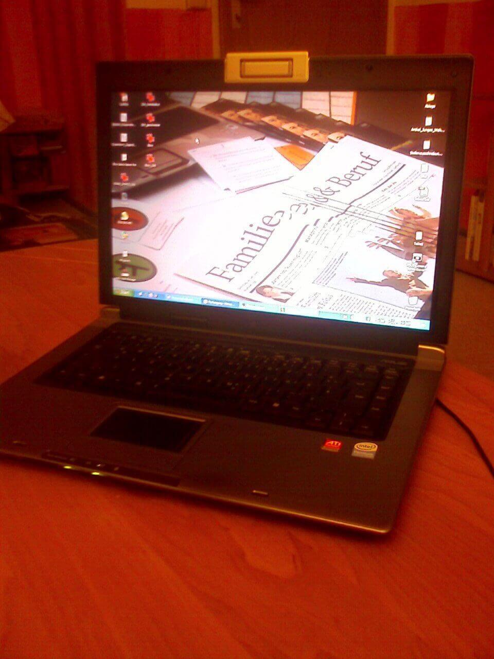 Laptop Computer Vereinbarkeit (c) familienfreund.de