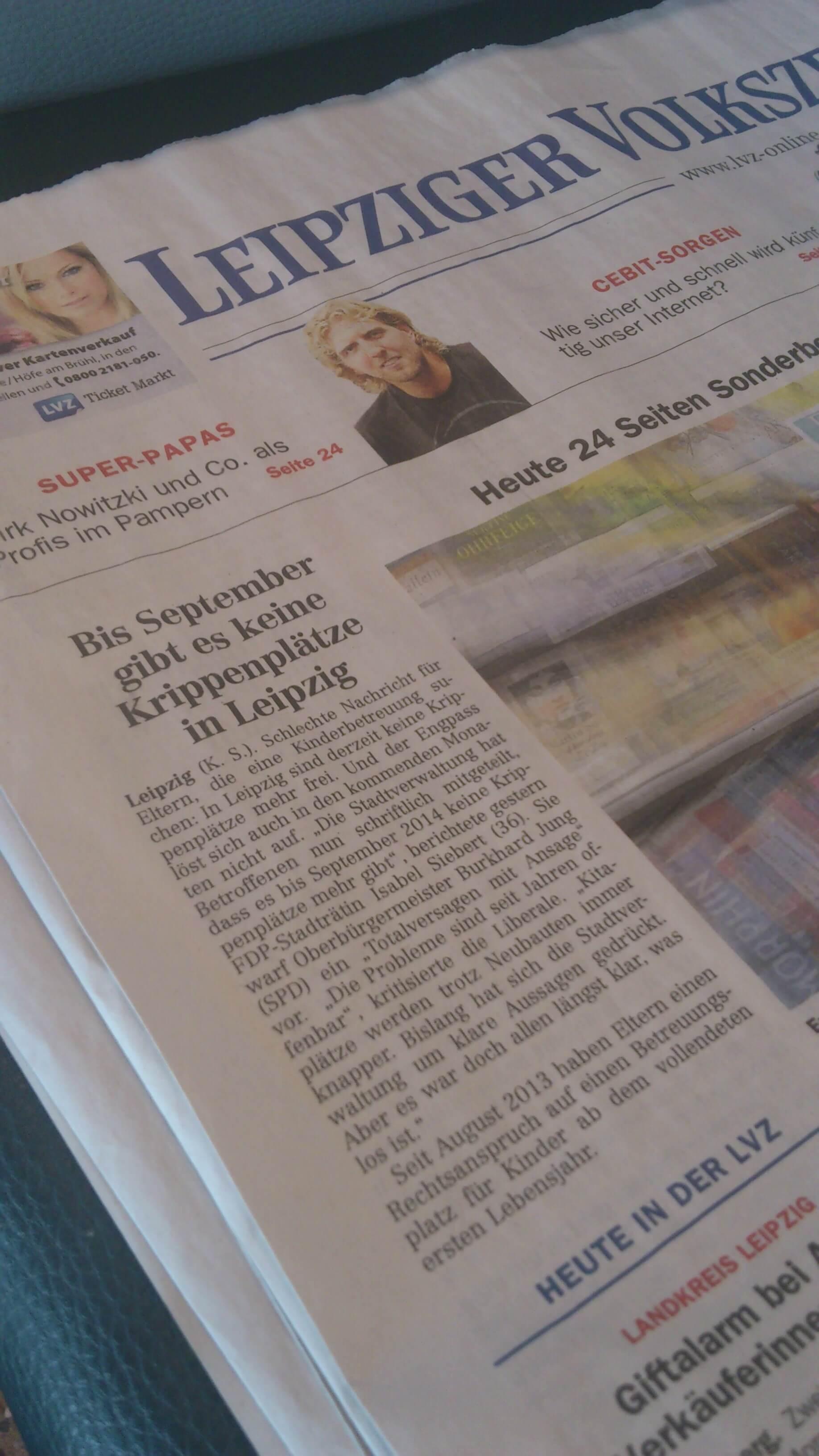 Mangel an Krippenplätzen (c) familienfreund.de