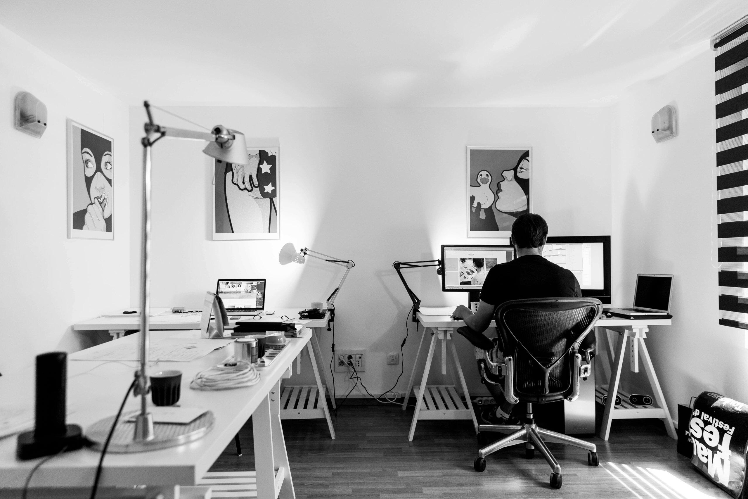 Im Homeoffice lässt sich produktiv sein (c) tookapic / pixabay.de