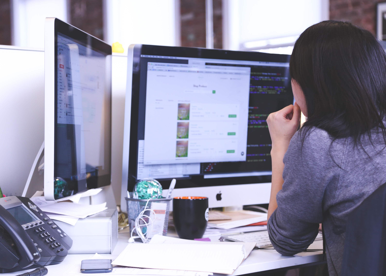 Arbeiten am PC (c) 50stock.com
