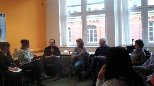 Tagesmütter und -väter bei der Weiterbildung (c) Institut für Selbstmanagement und Innovation Dr. Kristina Schubert