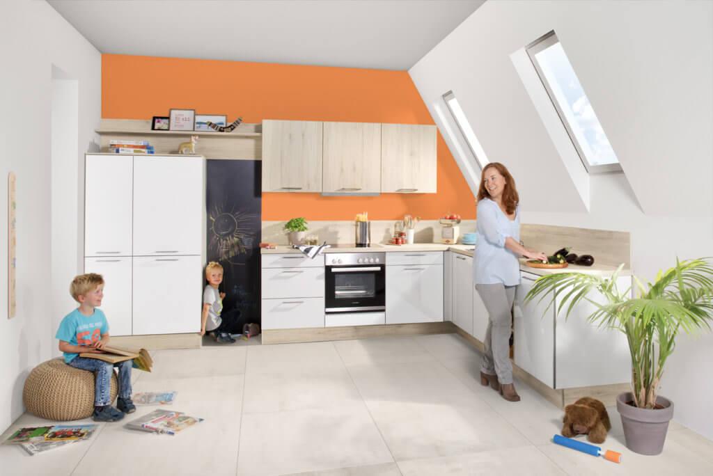 Die Familienküche als weiterer Lebensraum in Haus und Wohnung (c) Küche & Co
