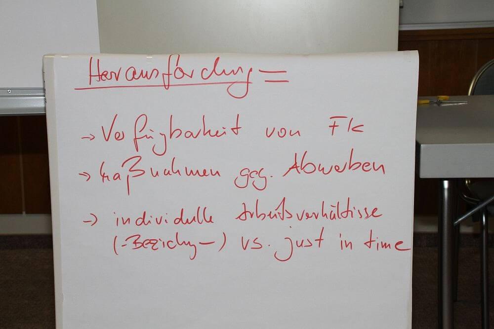 Workshop Fachkräftesicherung in Meißen - Erwartungen (c) familienfreund.de